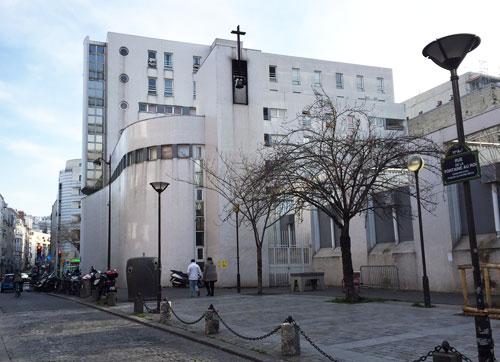 L'église Notre-Dame reconciliatrice