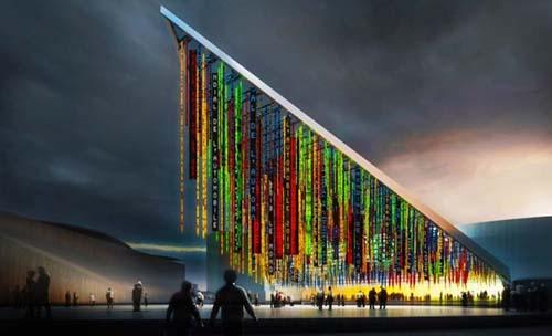 Le futur parc des Expositions : projet du pavillon n°6 par l'atelier Jean Nouvel