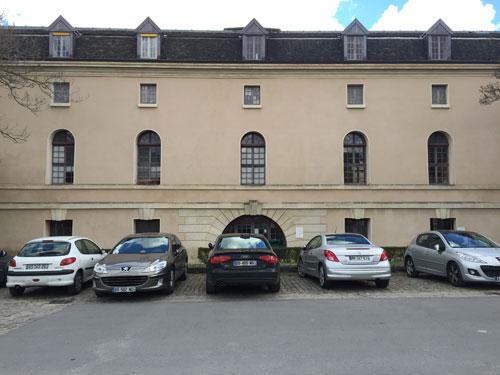 La prison de la Petite Force - Façade sur la rue Vincent de Paul