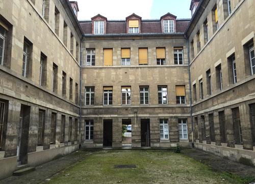 La prison de la Petite Force - L'une des 4 cours intérieures