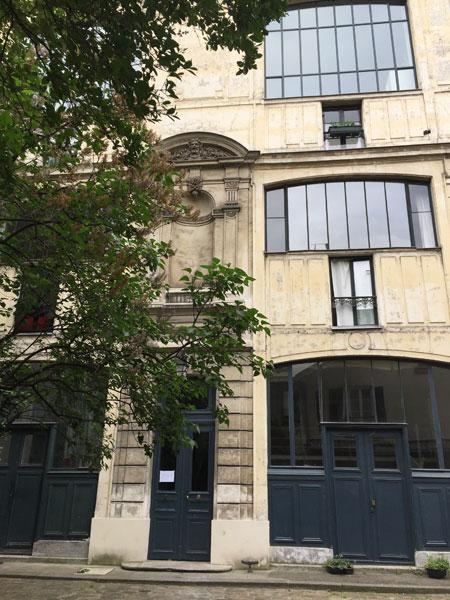 Ateliers d'artistes, bouelvard de Clichy