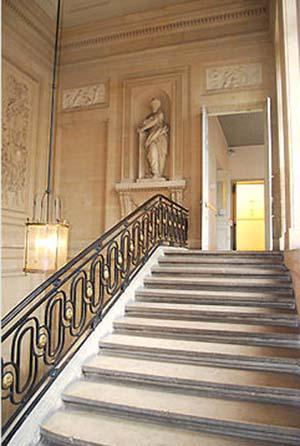 L'hôtel de Fleury - L'escalier d'honneur
