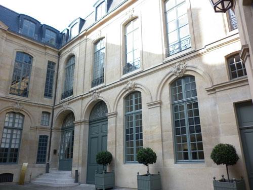 L'hôtel Castanier - L'aile droite