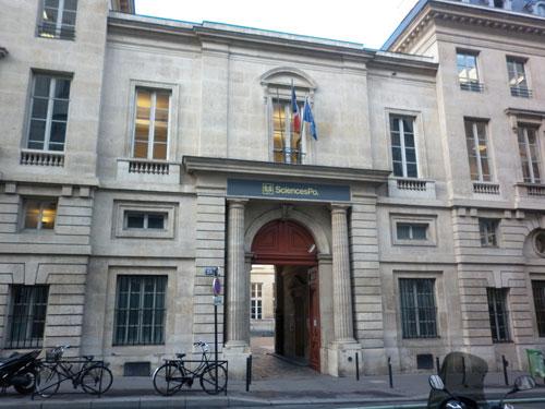 L'hôtel de Fleury - Le bâtiment sur rue