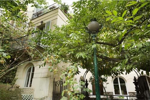 Hôtel Talma - Façade sur le jardin