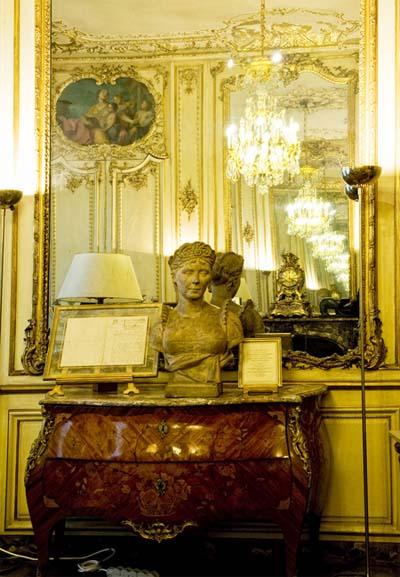 L'hôtel Bourgeois de Boigne : le grand salon décoré par Nicolas Pineau
