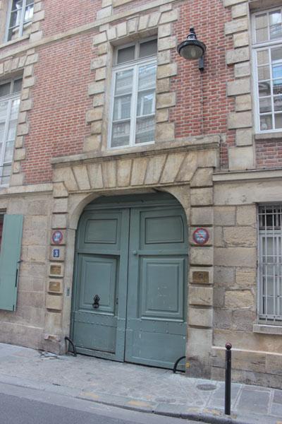 L'hôtel Dupré de Saint-Maur - Le portail