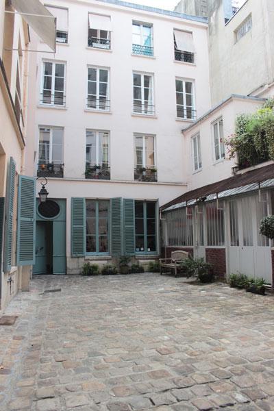 L'hôtel Dupré de Saint-Maur - La 2e cour