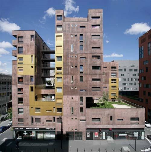 Logements sociaux rue Françoise Dolto