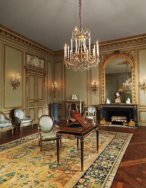 L'hôtel de Tessé : le Grand Salon aujourd'hui au Metropolian Museum de New-York