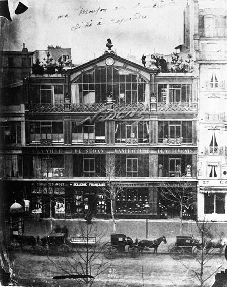 L'atelier de Nadar - La façade d'origine