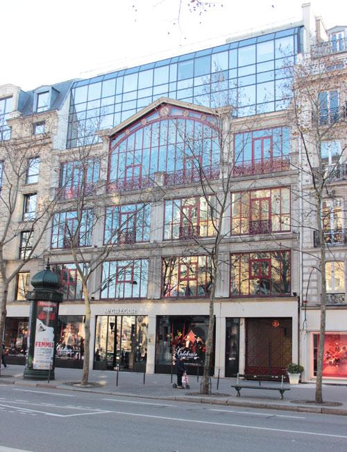 L'atelier de Nadar - La façade actuelle (surélevée)
