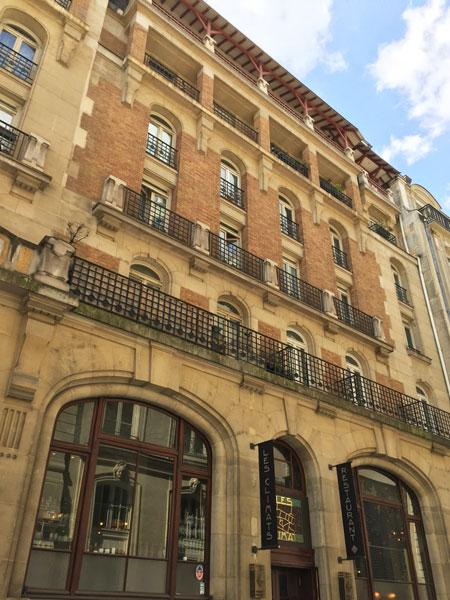 La maison des Dames des PTT - La façade sur rue