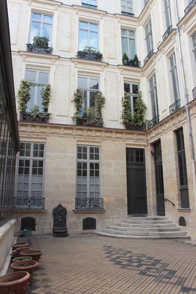L'hôtel de Conflans-Carignan - Façade sur cour