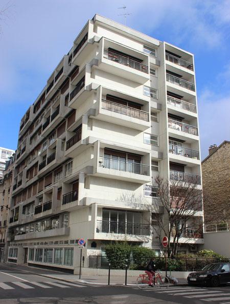 Immeuble de logements rue Cabanis