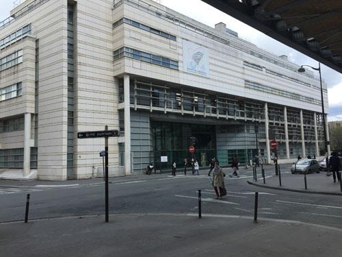 L'Institut de cardiologie - Façade sur le boulevard Vincent Auriol