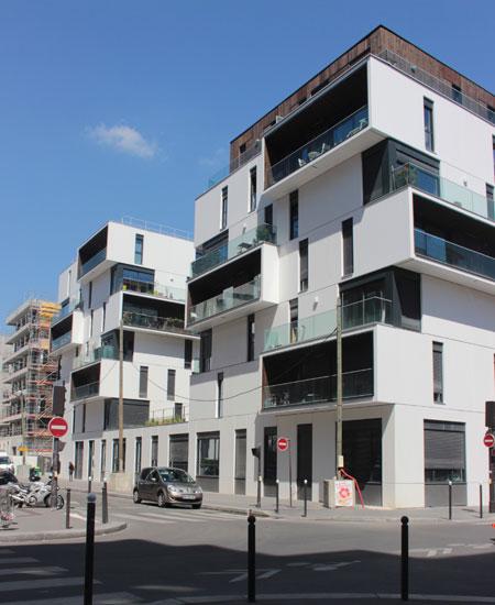 Logements et foyer pour autistes, Rue de Lourmel