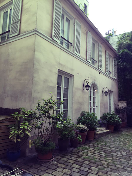 maison, rue de La Rochefoucauld