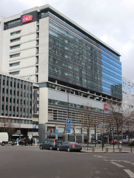 Le siège de la SNCF