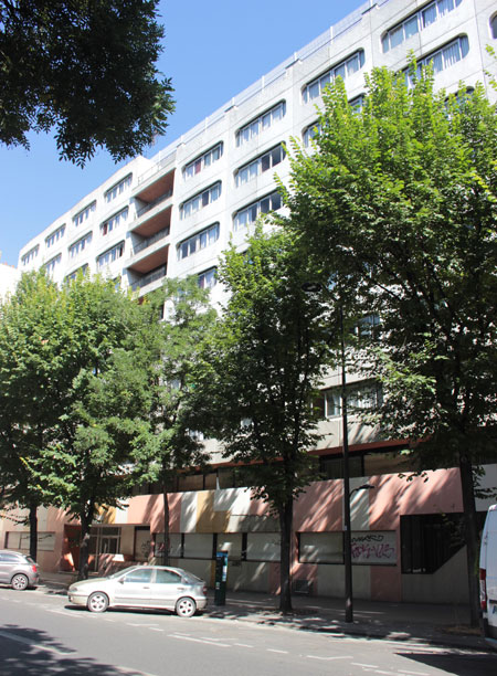Foyer de jeunes Filles rue de Tolbiac