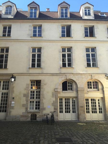 L'hôtel de Sauroy - Une des deux ailes perpendiculaires