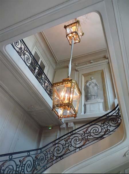 L'hôtel de la Vaupalière - L'escalier d'honneur