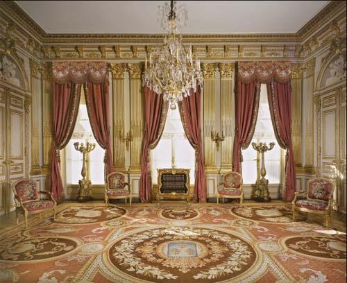 L'hôtel de la Vaupalière - Un salon