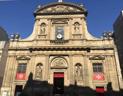 L'église Sainte-Elizabeth - la façade