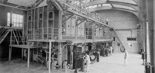 L'hôpital Broussais - L'intérieur de l'ancienne chaufferie