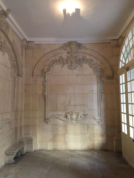 Les hôtels Le Lièvre de La Grange - Le vestibule du n°4