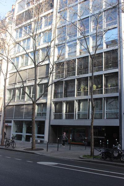 Immeuble de logements, avenue de La Bourdonnaye