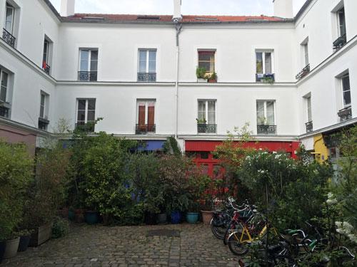 L'hôpital Nicolas de Blégny - La 3e cour