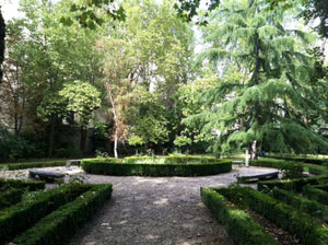 L'Institut Catholique de Paris : le jardin de l'ancien couvent des Carmes