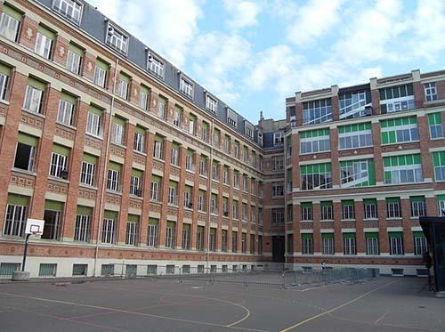 Le collège Stanislas - le bâtiment des classes préparatoires