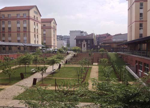 L'hôpital Saint-Joseph - Le jardin