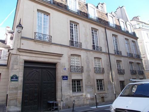 L'hôtel du Grand Chantre - Le bâtiment sur rue