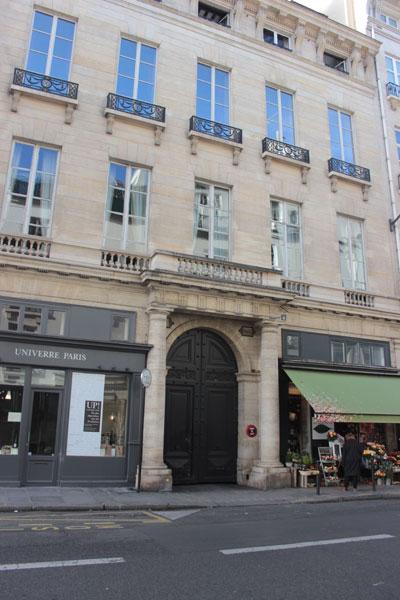 L'immeuble locatif situé au n°4 rue de Tournon