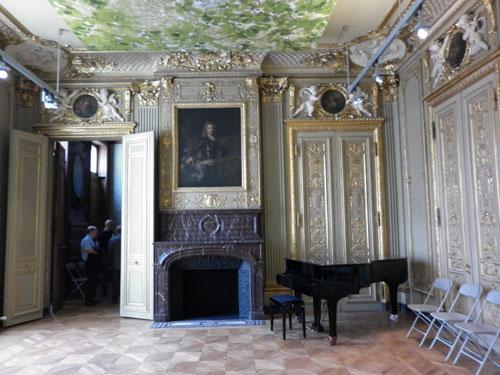 L'hôtel de Wendel - Le grand salon