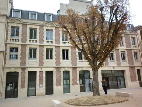 L'hôtel de Wendel - L'aile Nord de style néo-Louis XIII