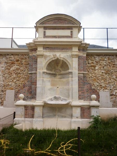 L'hôtel de Wendel - La fontaine