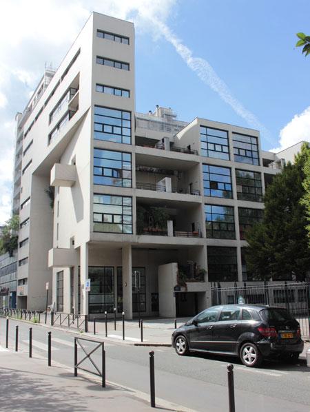 Immeuble-villa allée Marc Chagall