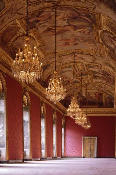 La galerie Mazarine et son admirable plafond peint