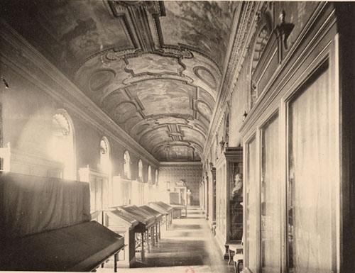 La galerie Mazarine au XIXe siècle