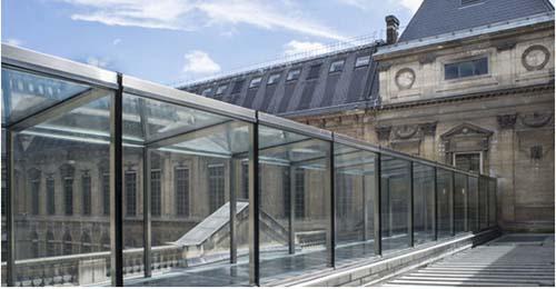 BNF - La galerie de Verre créée par Bruno Gaudin