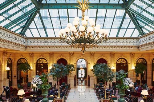 Le Grand Hôtel - Le salon de thé sous la verrière