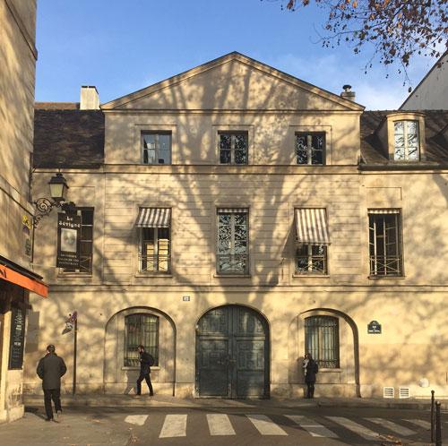 L'hôtel de Croisilles - Le bâtiment sur rue