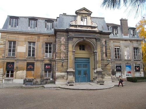 L'hôtel de Magny - La façade Sud
