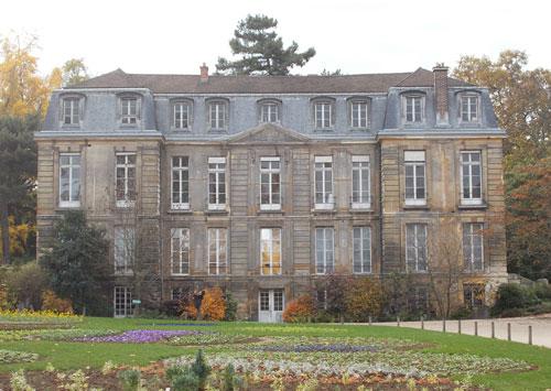 L'hôtel de Magny - La façade Nord