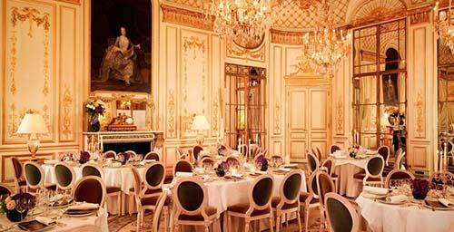 Le Meurice - La salon Pompadour