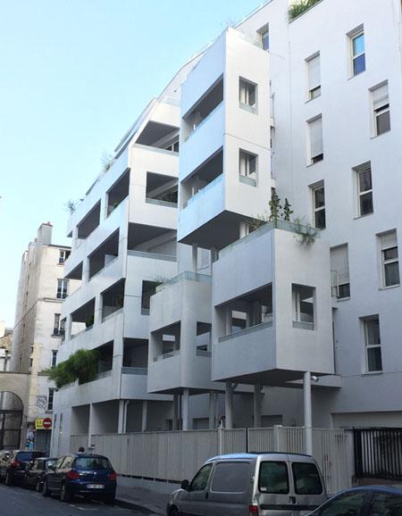 Logements Rue de Meaux